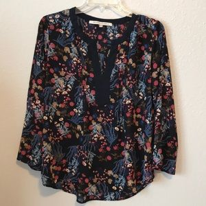 Collective Concepts shear floral top
